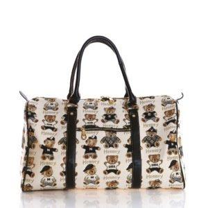 Weekender Duffel Travel Bag - Back