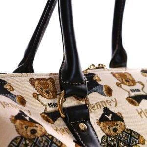 Weekender Duffel Travel Bag – Handle Details