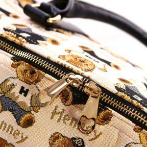 Weekender Duffel Travel Bag – Zipper Details
