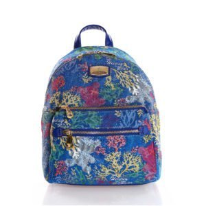 Compact Backpack - Coral Bear