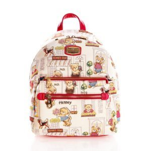 Compact Backpack - Floral Bear