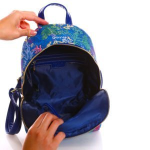 Compact Backpack – Open