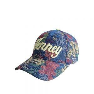 Classic-Henney-Bear-Cap-Coral-Bear-summer-lightweight-cap