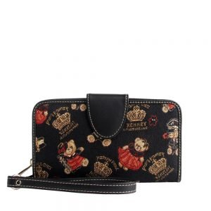 W002-Double-Sided-Ladies-Purse-Crown-Bear-Front2