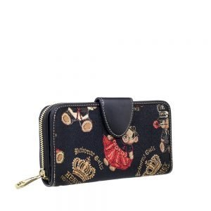 W002-Double-Sided-Ladies-Purse-Crown-Bear-Side1