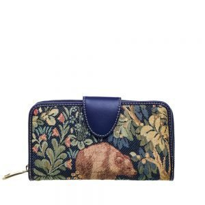 W002-Double-Sided-Ladies-Purse-Walk-In-The-Forest-Front
