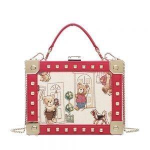 Crossbody-BAGS-Floral-Bear-hENNEYBEAR-TEDDY