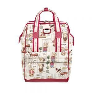 275-Backpack-Floral-Bear-Front