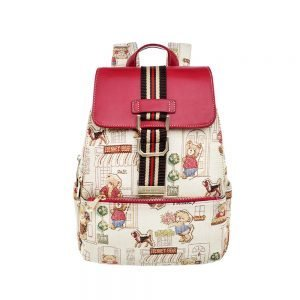 290-Backpack-Floral-Bear-Front