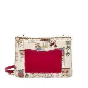 330-Medium-Envelope-Chain-Bag-Floral-Bear-Side