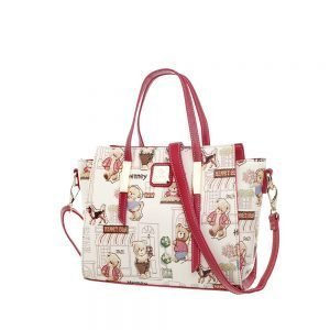 332-Top-Handle-Floral-Bear-Side
