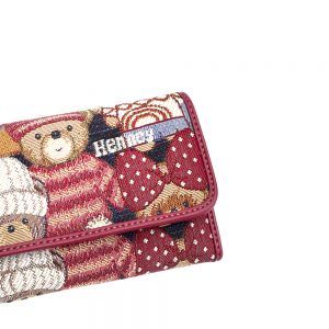 W062-Cali-Trifold-Wallet-Purse-Cute-Bear-Details1