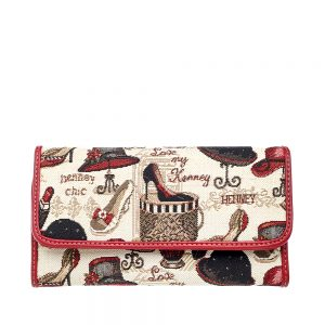 W062-Cali-Trifold-Wallet-Purse-Shoe-And-Hat-Front