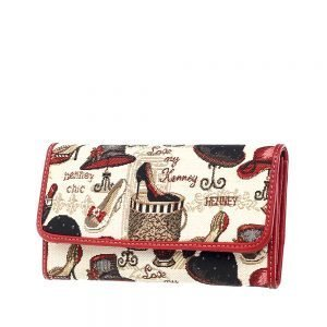 W062-Cali-Trifold-Wallet-Purse-Shoe-And-Hat-Side