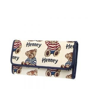 W062-Cali-Trifold-Wallet-Purse-StripeBear-Side