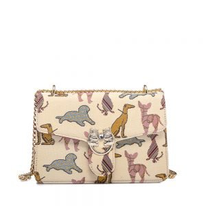 330-Medium-Envelope-Chain-Bag-Noble-Dog-Front