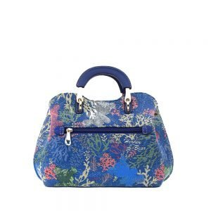 338-Medium-Top-Handle-Bag-Coral-Bear-Back