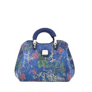 338-Medium-Top-Handle-Bag-Coral-Bear-Front