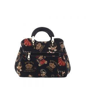 338-Medium-Top-Handle-Bag-Crown-Bear-Back
