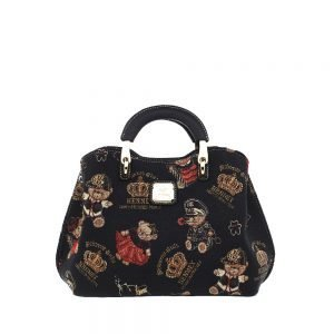 338-Medium-Top-Handle-Bag-Crown-Bear-Front