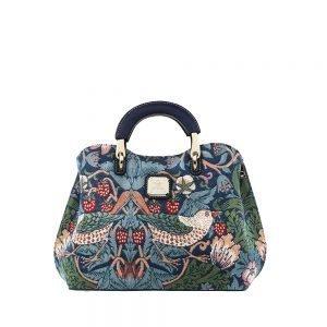 338-Medium-Top-Handle-Bag-Strawberry-Thief-Front