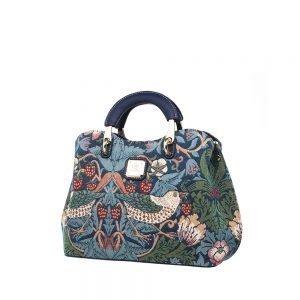 338-Medium-Top-Handle-Bag-Strawberry-Thief-Side