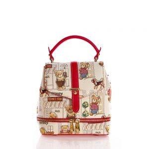 258-Backpack-Floral-Bear