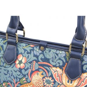 002-INGRID-Top-Handle-CarryAll-Bag-Strawberry-Thief-Details