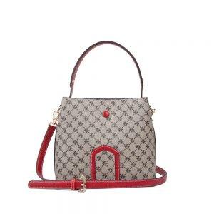 427-PALOMA-Top-Handle-Shoulder-Bag-Crossbody-Diagonal-Red-Front1