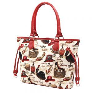 002-INGRID-Top-Handle-CarryAll-Bag-Henney-Bear-Shoe-And-Hat-Side
