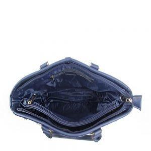 002-INGRID-Top-Handle-CarryAll-Bag-Henney-Bear-Stripe-Bear-Open