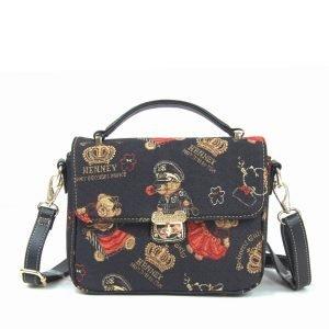 065-KAI-Top-Handle-Corssbody-Bag-Crown-Bear-Front