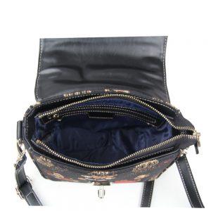065-KAI-Top-Handle-Corssbody-Bag-Crown-Bear-Open