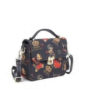 065-KAI-Top-Handle-Corssbody-Bag-Crown-Bear-Side