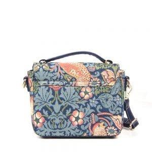 065-KAI-Top-Handle-Corssbody-Bag-Strawberry-Thief-Back
