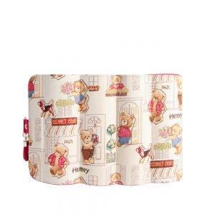 217-Belen-travel-jewellery-organizer-box-Floral-Bear-Open-Back
