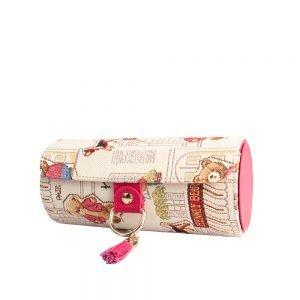 217-Belen-travel-jewellery-organizer-box-Floral-Bear-Side