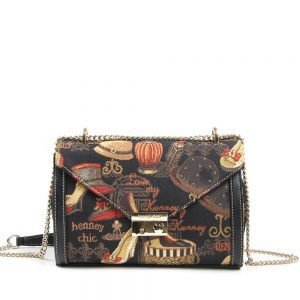 329-WILLOW-Day-To-Night-Shoulder-Crossbody-Bag-Gold-Shoe-And-Hat-Front