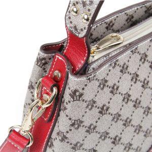 427-PALOMA-Top-Handle-Shoulder-Bag-Crossbody-Diagonal-Red-Details