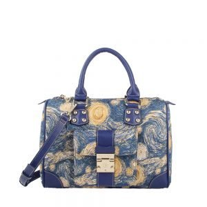 273-Carry-All-Top-Handle-Bag-Starry-Sky-Front