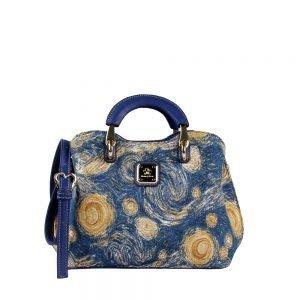 338-Medium-Top-Handle-Bag-Starry-Sky-Front