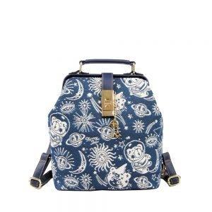210-LAYLA-TravelBackpack-Lightweight-SchoolBackpack-Backpack-henneyBear-Star-Travel-Front