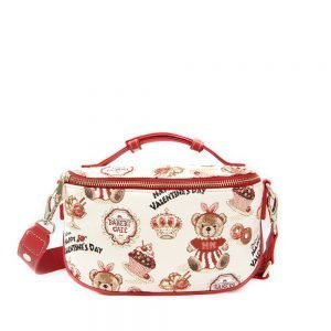 421-OCTAVIA -Fanny-Pack-Belt-Bag-Crossbody-Bag-with-Adjustable-Strap-Cake-Bear-Front