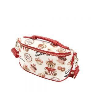 421-OCTAVIA -Fanny-Pack-Belt-Bag-Crossbody-Bag-with-Adjustable-Strap-Cake-Bear-Side